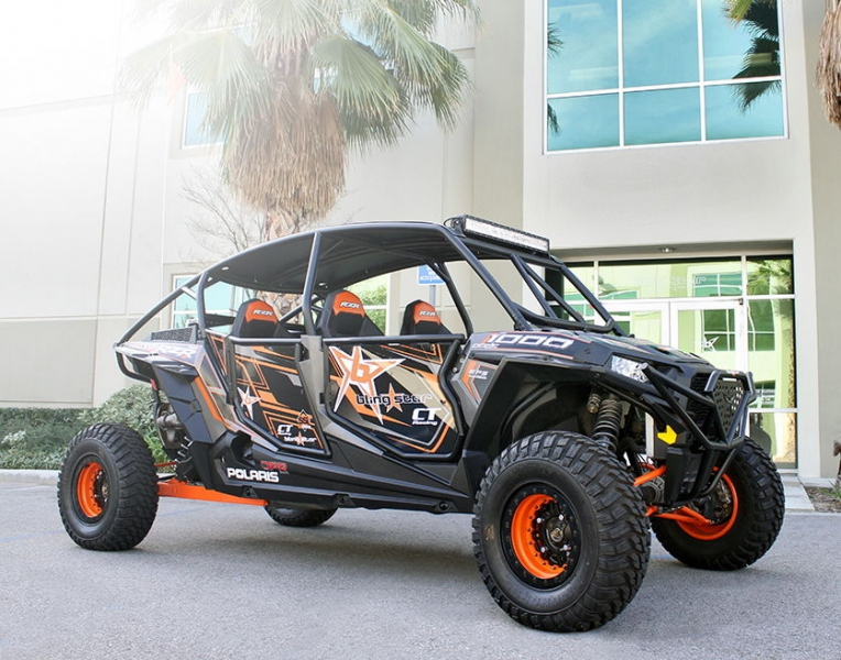 Комплект дверей Blingstar на Polaris RZR-4 1000XP UTV-2501TXT
