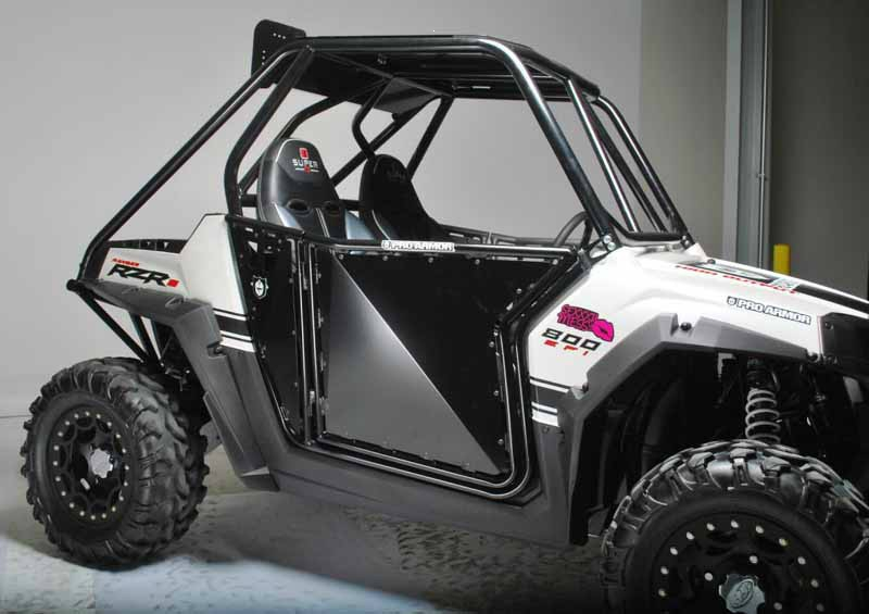 Двери для Polaris RZR ProArmor SUICIDE DOOR METAL Black