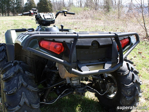 Задний бампер SuperATV для Polaris Sportsman 550/850 (2009+)