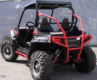 БАМПЕР ДЛЯ КВАДРОЦИКЛА POLARIS RZR800/800-S QUADRAX ELITE УСИЛЕННЫЙ, ЗАДНИЙ (Арт. 15-8541)