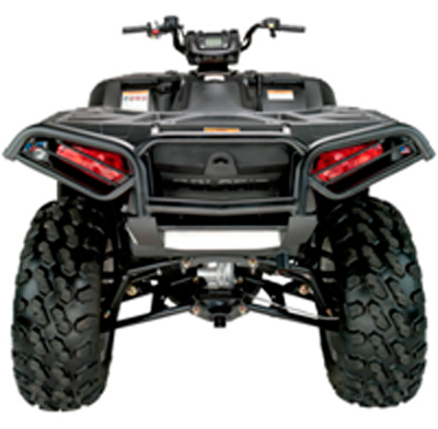 Бампер задний Polaris Sportsman 850/550 XP  -09-13