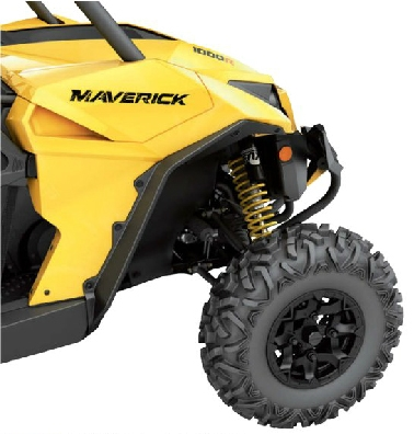 РАСШИРИТЕЛИ АРОК ДЛЯ КВАДРОЦИКЛА CAN-AM MAVERICK / MAVERICK MAX (Арт. 715002414)