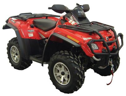 Расширители арок для CAN-AM OUTLANDER 500/650/800 Direction 2 Inc (OFSCA1000)