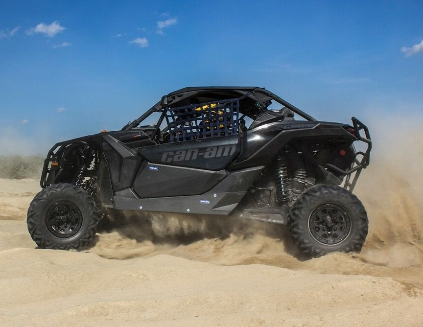 Защита порогов Maverick X3 (Turbo R, X DS Turbo R, X RS Turbo R) 2016-