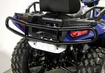 БАМПЕР ДЛЯ КВАДРОЦИКЛА POLARIS SPORTSMAN XP 550/850 11-14 QUADRAX ELITE, ЗАДНИЙ (Арт. 15-8573)