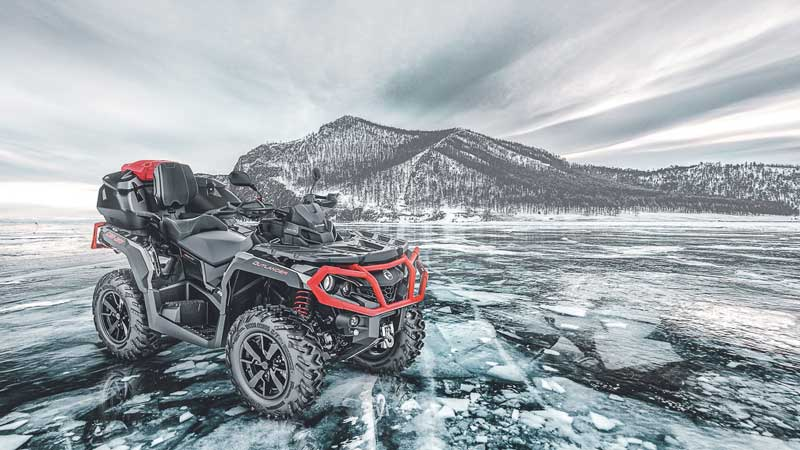 Кофр задний для BRP CAN-AM Outlander G2