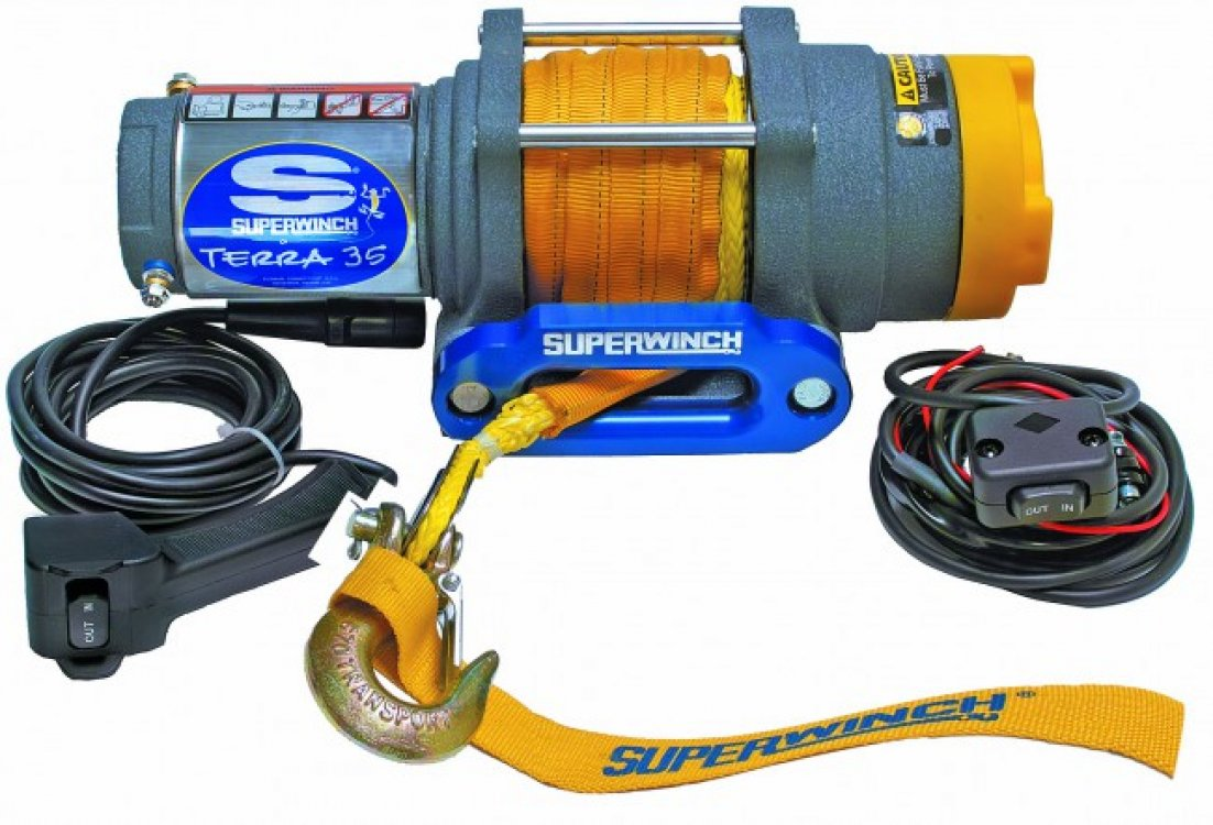 Лебедка Superwinch Terra 35 SR