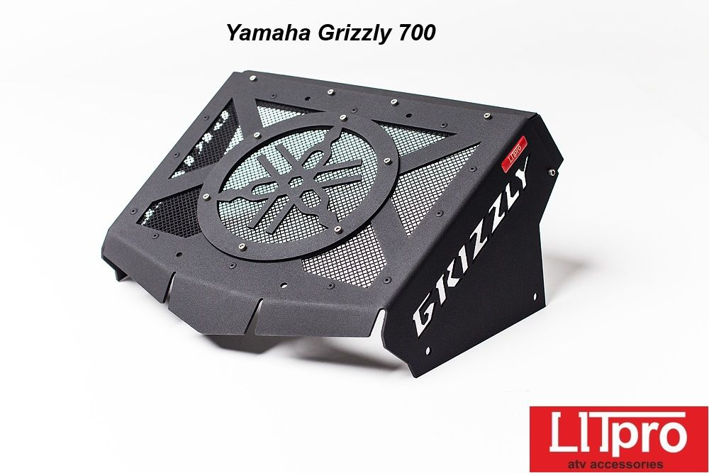 Вынос радиатора на Yamaha Grizzly 550/700(сталь)